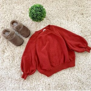 🆕 Burnt orange sweater